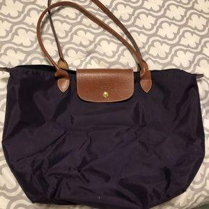 Large purple Longchamp Bag